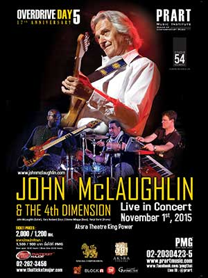 John Mclaughlin & The 4th Dimension Live in Bangkok
