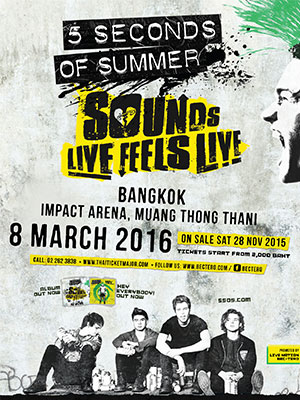 5 SECONDS OF SUMMER SOUNDS LIVE FEELS LIVE