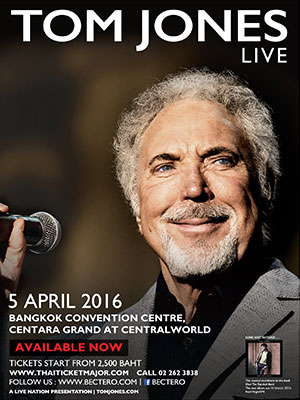 TOM JONES LIVE (Cancelled)