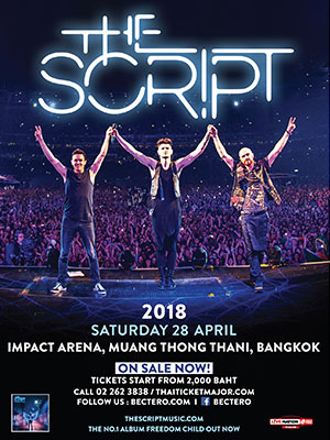 The Script live in Bangkok
