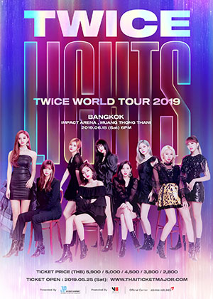 TWICE WORLD TOUR 2019 'TWICELIGHTS' IN BANGKOK