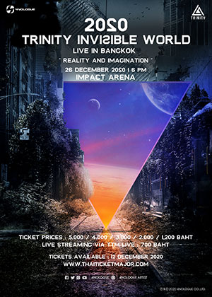 2020 TRINITY INVISIBLE WORLD<br>LIVE IN BANGKOK