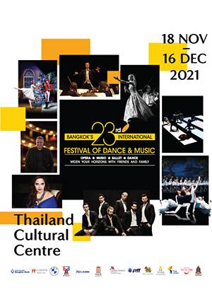 ICP 2021 - Bangkok's Internationnal Festival of Dance & Music