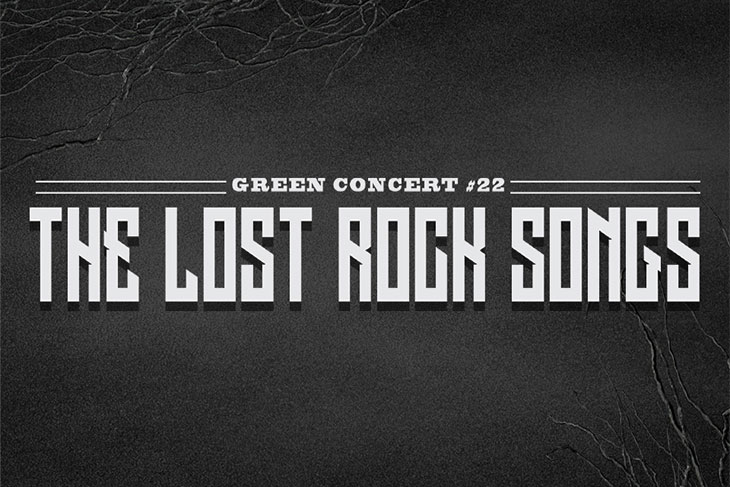 Green Concert #22 The Lost Rock Songs
