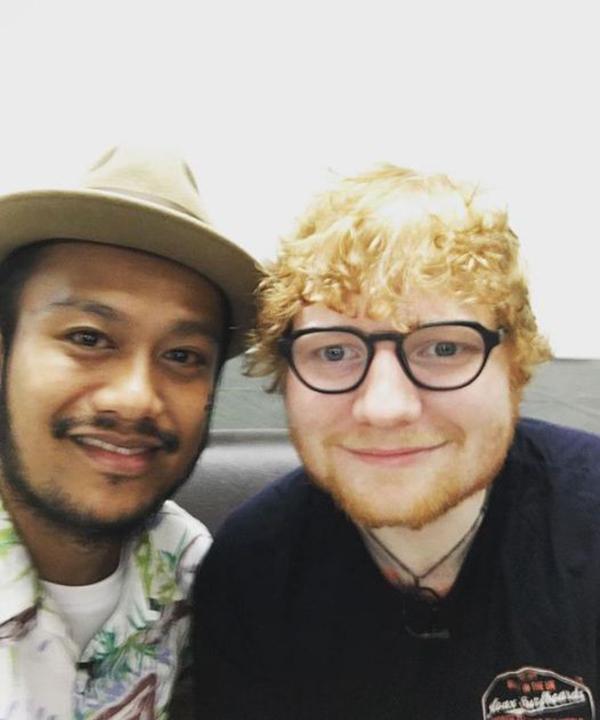 สิงโต Ed Sheeran
