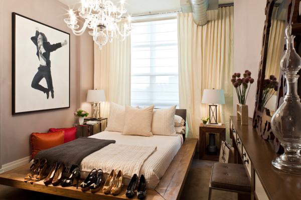 เตียงไม้