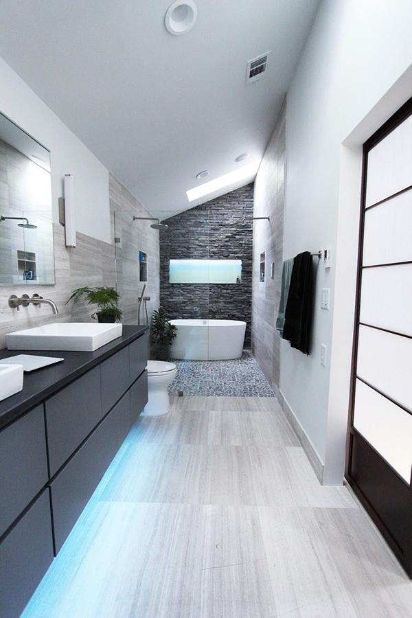 ห้องน้ำโมเดิร์น