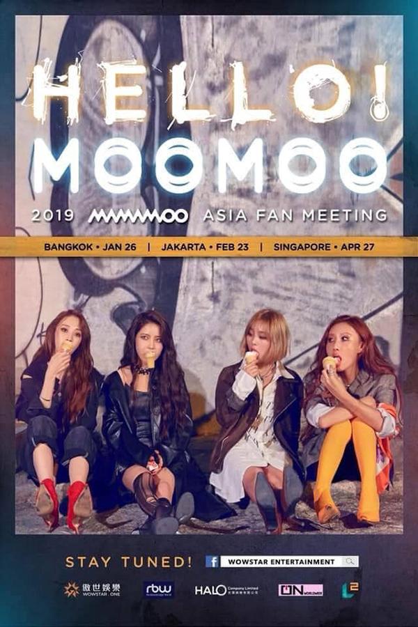 2019 MAMAMOO [HELLO! MOOMOO] Asia Fan Meeting in Bangkok