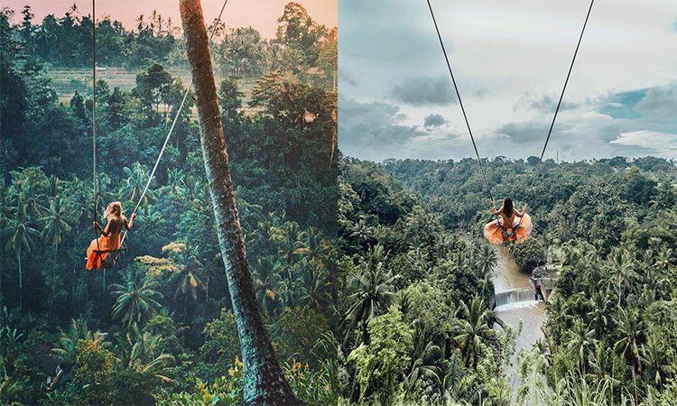 'บาหลี' มีชิงช้า.. ท้าความสูงและเสียวไปกับ Bali Swing