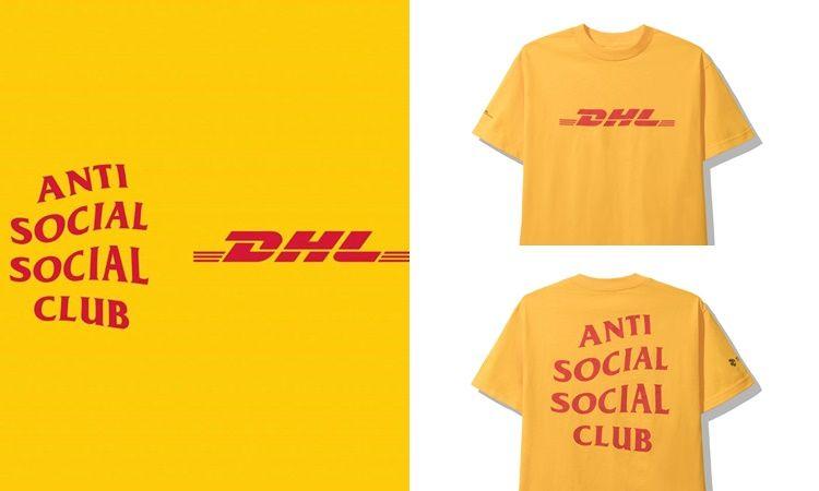 ของมันต้องมี! ANTI SOCIAL SOCIAL CLUB X DHL งานดีจนกระเป๋าตังค์สั่น