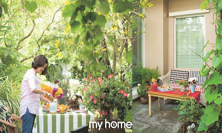 Homey & Harmony เสียง (สี) สรรในสวนสวย