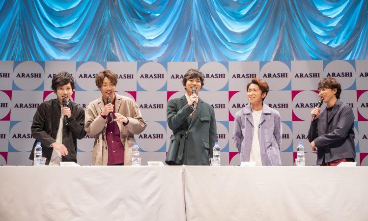 """เซอร์ไพรส์มาก! """"อาราชิ"""" แถลงข่าวปล่อยเพลงใหม่ พร้อมบินพบแฟนๆ 4 ประเทศ"""