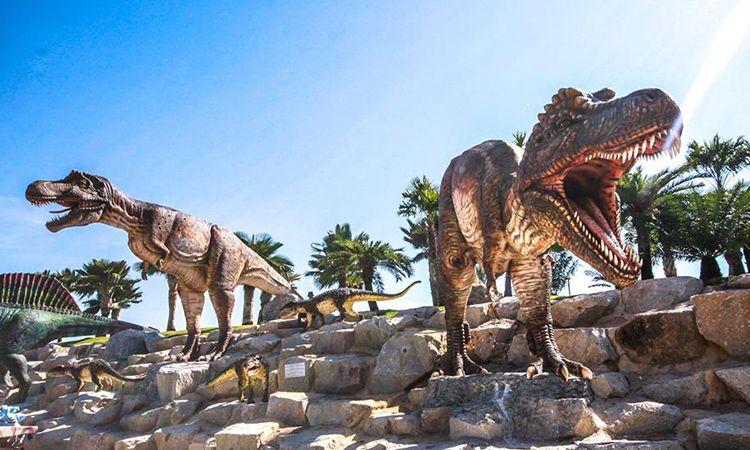 เยือน หุบเขาไดโนเสาร์ (Dinosaur Valley) สวนนงนุช พัทยา