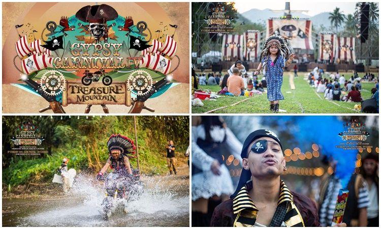 โจรสลัดบุก!! สาวกยิปซีเพียบ!! ภาพบรรยากาศงาน Gypsy Carnival #4 Treasure Mountain