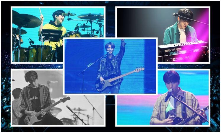 เก็บตกความมันส์ DAY6 WORLD TOUR 'GRAVITY' in BANGKOK ภาพสวยมาก
