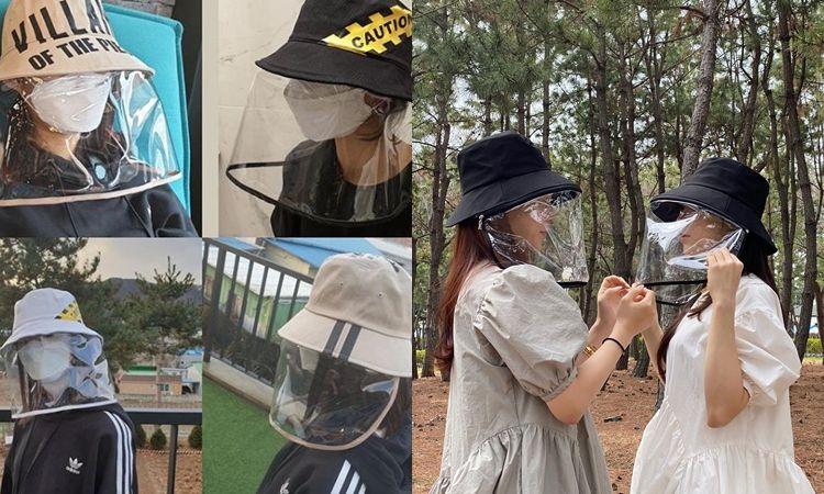 สุดยอมไอเทม! แฟชั่นเกาหลีฮิตเวอร์ หมวกกันน้ำลาย ฝุ่น ลม ที่เหมาะกับช่วงนี้