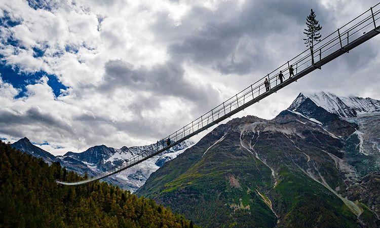 สายผจญภัยมาทางนี้!! Europabrücke สะพานแขวนคนข้ามที่ยาวที่สุดในโลก ที่สวิตเซอร์แลนด์
