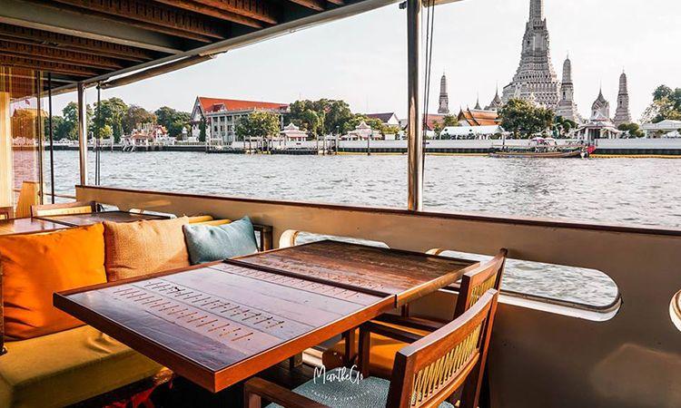 ล่องเรือดินเนอร์ พร้อมดื่มด่ำบรรยากาศแม่น้ำเจ้าพระยา กับ Supanniga Cruise