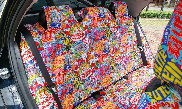 มิติใหม่ในการเดินทาง กับ UberART ยกงานศิลปะมาไว้ในรถ 5 คัน 5 สไตล์