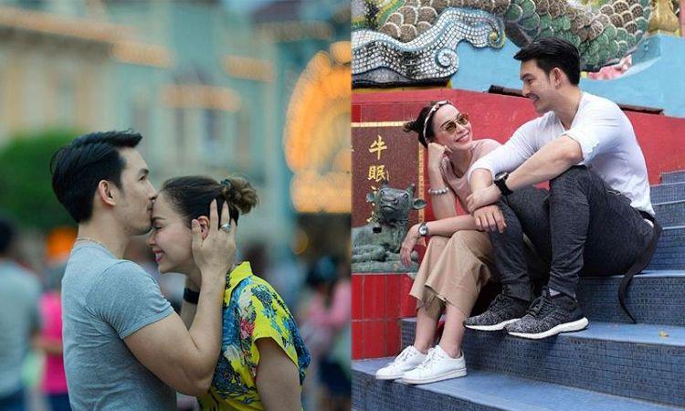 อั้ม ควง นัท จัดทริปไหว้พระที่ฮ่องกง เผยโมเม้นท์หวานเจี๊ยบกลางสวนสนุก