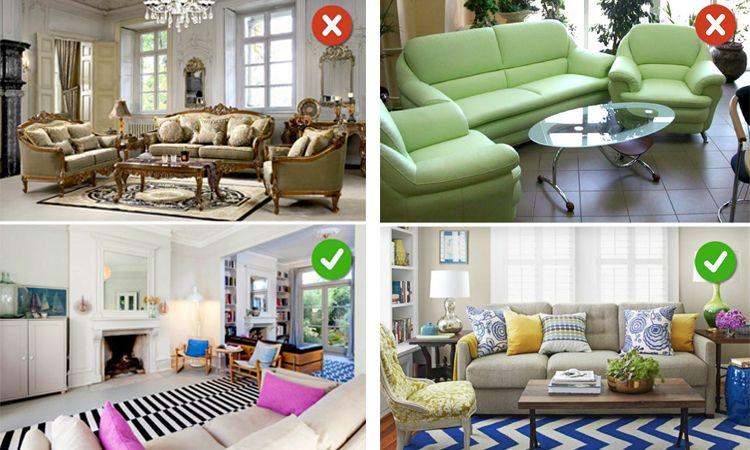 16 ข้อผิดพลาดที่เราทำ ในการออกแบบห้องนั่งเล่น