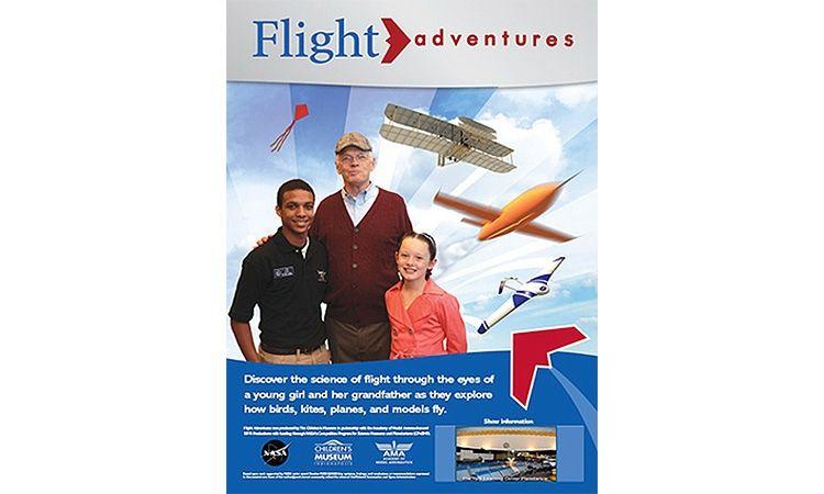 ท้องฟ้าจำลองจัดแสดงภาพยนตร์เต็มโดม เดือนกันยายน 2561 เรื่อง กว่าจะบินได้ (Flight Adventures)