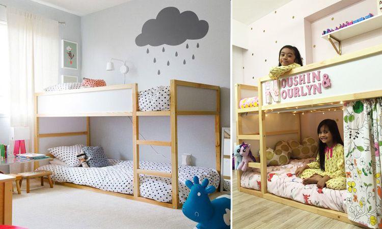 รวม 20 แบบตกแต่งห้องนอนด้วยเตียง 2 ชั้น ให้เด็กๆ ได้เพลิดเพลินก่อนเข้านอน