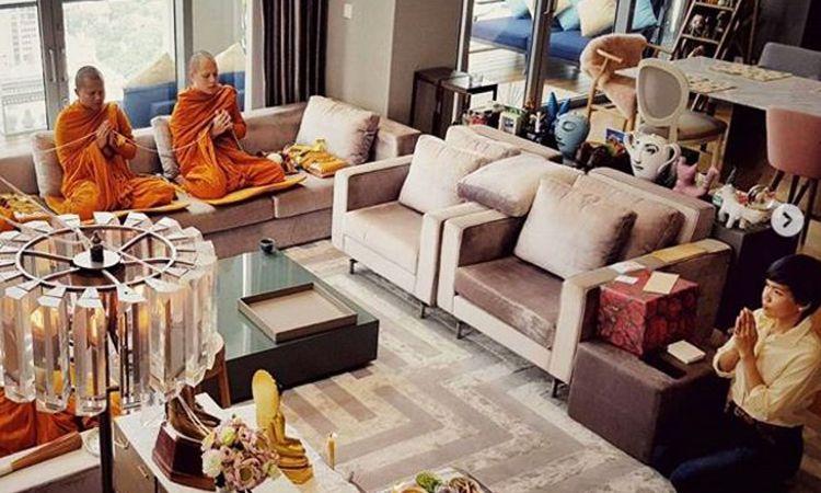 ชีวิตดี๊ดี กาละแมร์ พัชรศรี ทำบุญบ้านใหม่ คอนโดหรูใจกลางเมือง ราคา 10 ล้าน!