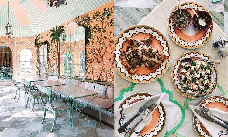 "Caffé Palladio Jaipur ร้านอาหารสุดเก๋ไก๋ที่พลาดไม่ได้ เมื่อไป ""ชัยปุระ"""