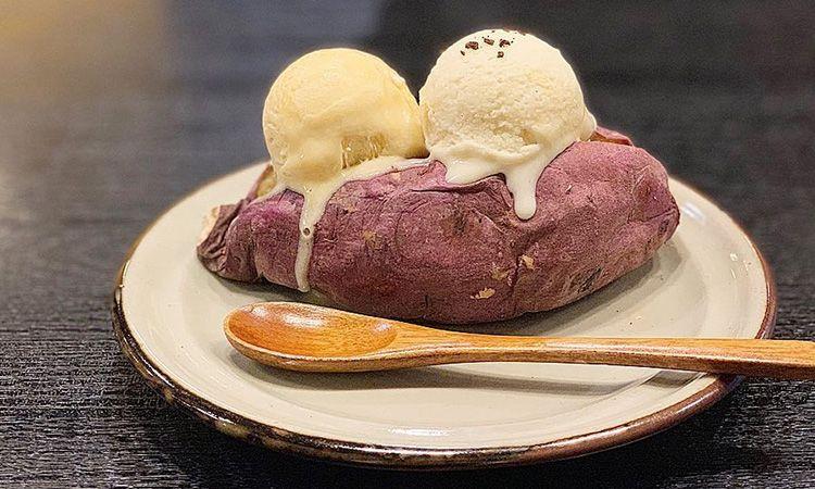 ไปโอซาก้า ต้องลอง ไอศกรีมมันหวานญี่ปุ่น ที่ Mikkouya