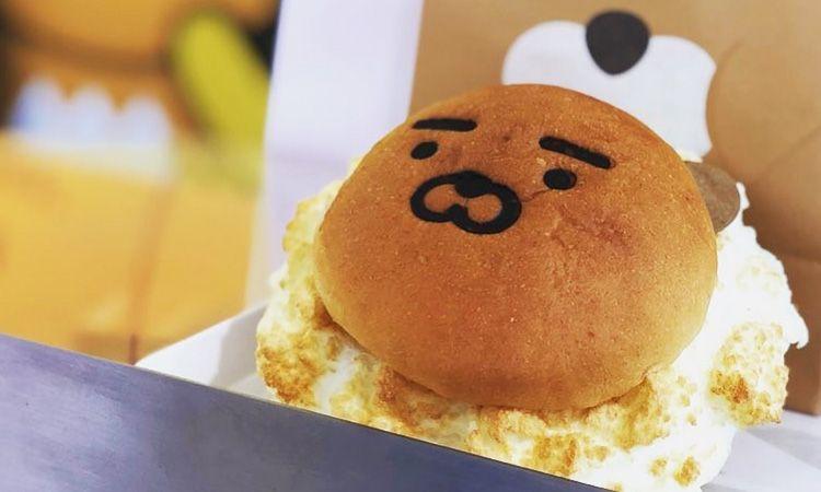 QUARTET x KAKAO FRIENDS ปล่อยเซตขนมปังไรอันสุดน่ารัก