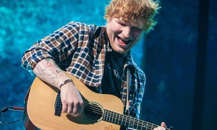 สุดยอด! เพลง Shape Of You ของ Ed Sheeran ทำยอดขายทะลุ 5 แพลทตินั่ม ที่อังกฤษ