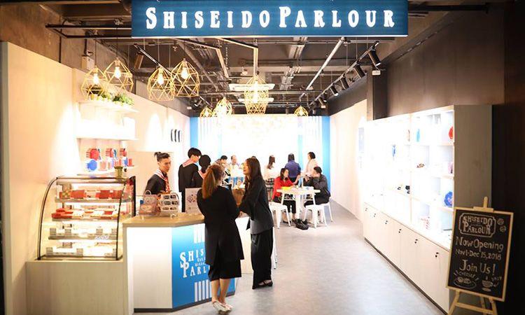 โลกแห่งขนมหวานมาบรรจบกับโลกแห่งความงาม ที่ Shiseido Parlour Pop-Up Store