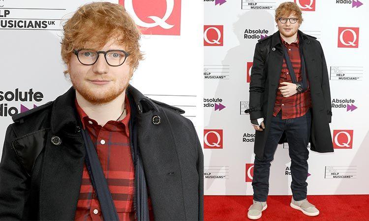 Ed Sheeran คว้ารางวัล Best Act In The World Today จากเวที Q Awards