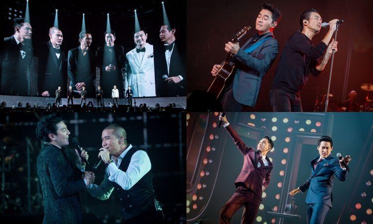 ประมวลภาพที่สุดคอนเสิร์ตสร้างประวัติศาสตร์ทางดนตรี The Gentlemen Live