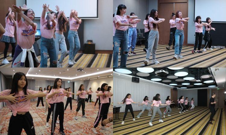 ฟิตหนัก!! เปิดตัว Dance Practice  60 สาว จาก Idol Paradise ช่อง3