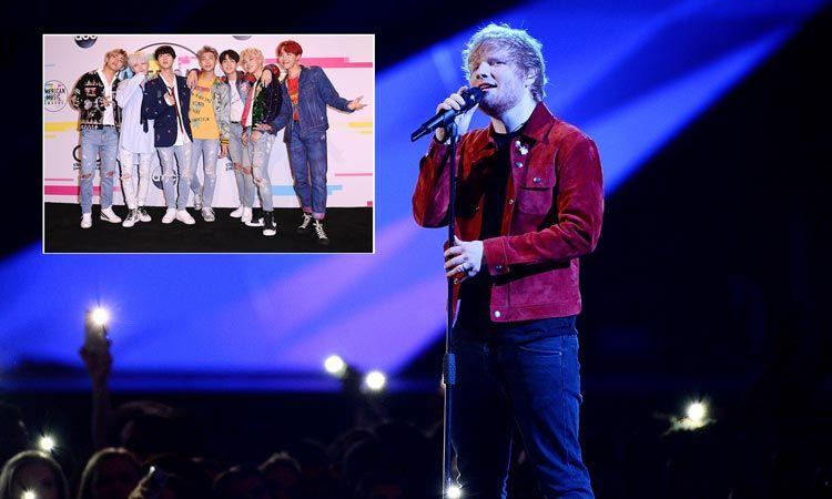 Ed Sheeran เผย ชื่นชอบวง BTS พร้อมเปรย น่าจะมาทำงานร่วมกันซักเพลง!