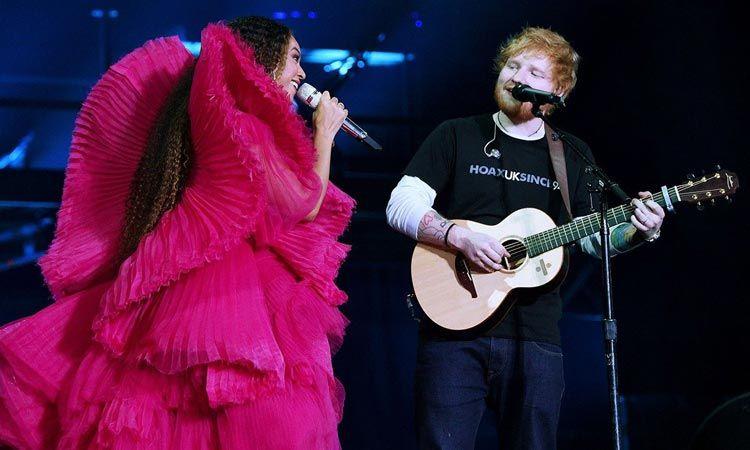 ชมคลิป Ed Sheeran และ Beyonce แสดงสดเพลง Perfect ด้วยกัน