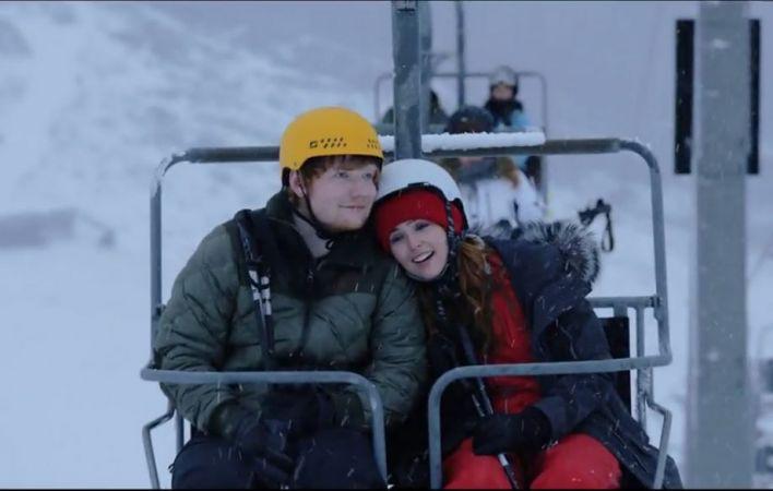 ชม Ed Sheeran ควงสาวเล่นสกีสุดโรแมนติก ในมิวสิควีดีโอเพลงใหม่ล่าสุด Perfect