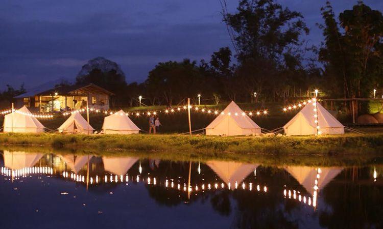 ไปนอนนับดาว พร้อมสัมผัสอากาศหนาวๆ ที่ Chiang Dao Camping