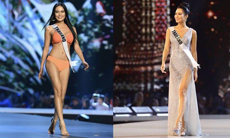 ไม่ผิดหวัง! นิ้ง โศภิดา อวดโฉมบนเวที Miss Universe 2018 รอบพรีลิม