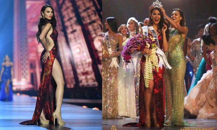 Catriona Gray มงลง! คว้าตำแหน่ง Miss Universe 2018
