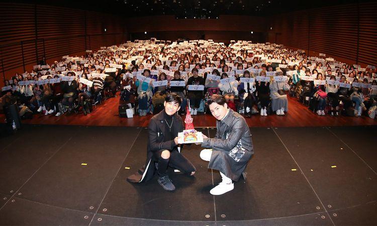 คริส-สิงโต บินลัดฟ้า พบปะแฟนๆ ญี่ปุ่น ในงาน Krist Singto 1st Fan Meeting In Japan