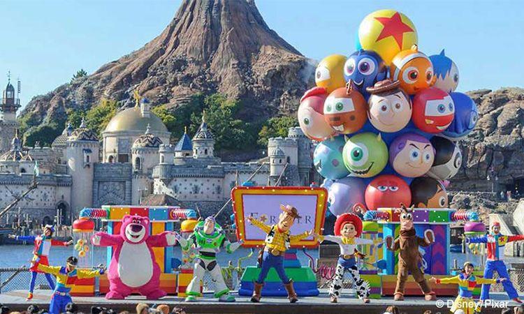 พบกับเหล่าตัวการ์ตูนจาก Pixar ที่ Tokyo DisneySea ตั้งแต่ 11 ม.ค. นี้ เป็นต้นไป