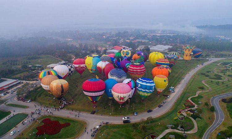 เตรียมพบกับ Singha Park ChiangRai International Balloon Fiesta 2019 ณ สิงห์ปาร์ค เชียงราย