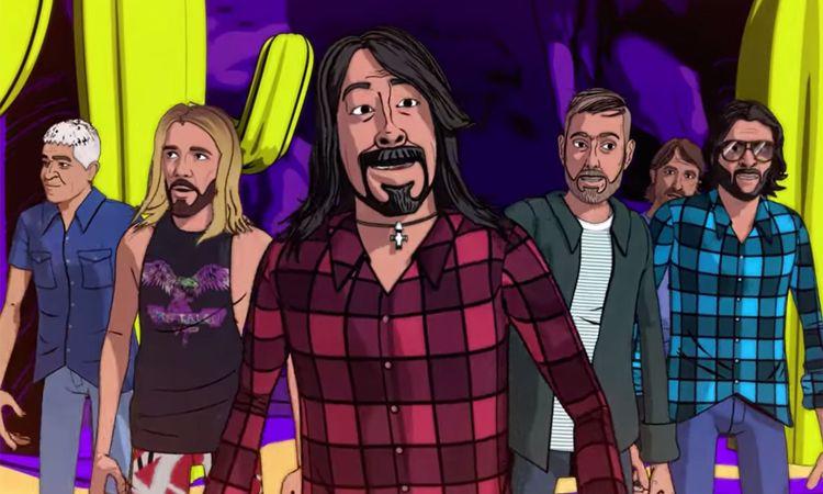 Foo Fighters ปล่อย MV ใหม่ Chasing Birds ในสไตล์แอนิเมชั่น