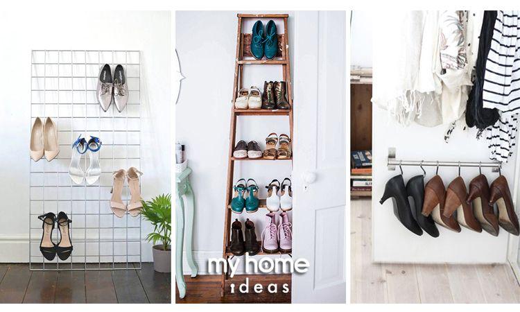 ไอเดียชั้นวางรองเท้าหลากรูปแบบ เรียบร้อยได้ในทุกพื้นที่ใช้สอย