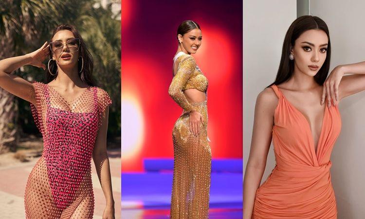 """รวม 41 ลุคสวยตาแตก """"อแมนด้า"""" ลุ้นมง Miss Universe 2020"""