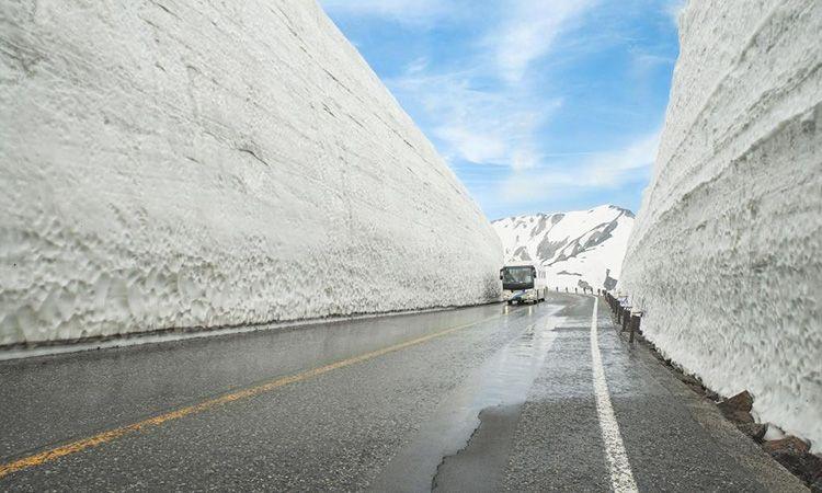 ครั้งหนึ่งในชีวิต พิชิต ทัวร์กำแพงหิมะ ญี่ปุ่น Tateyama-Kurobe Alpine Route