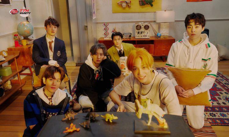 EXO ราชาแห่ง K-POP กลับมาแล้ว ในอัลบั้มพิเศษ DON'T FIGHT THE FEELING
